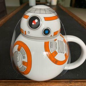 NWT Star Wars BB-8 Coffee/Tea Mug with Lid